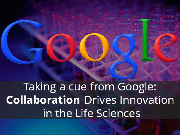 Google Collaboration Life Sciences