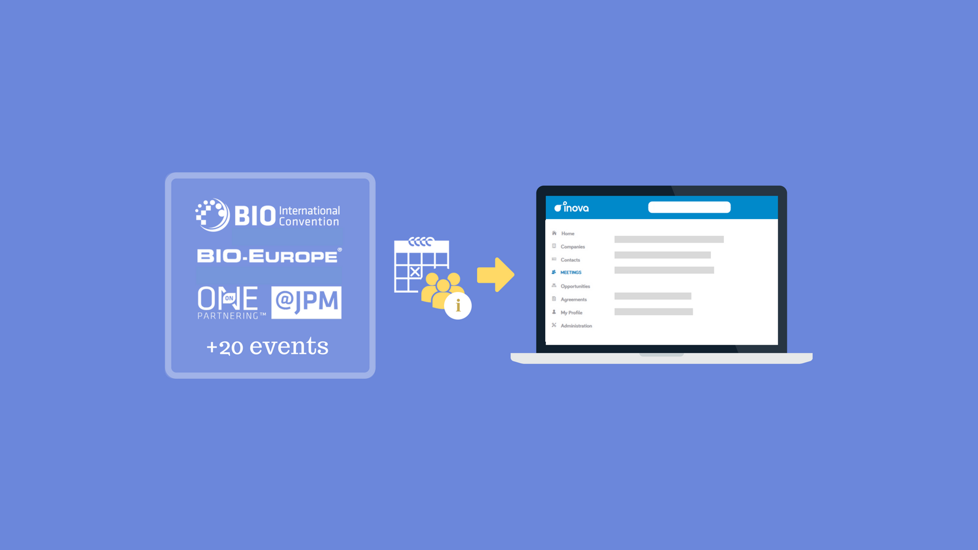 BIO Connector: Effortlessly import your conference meetings into Inova Software