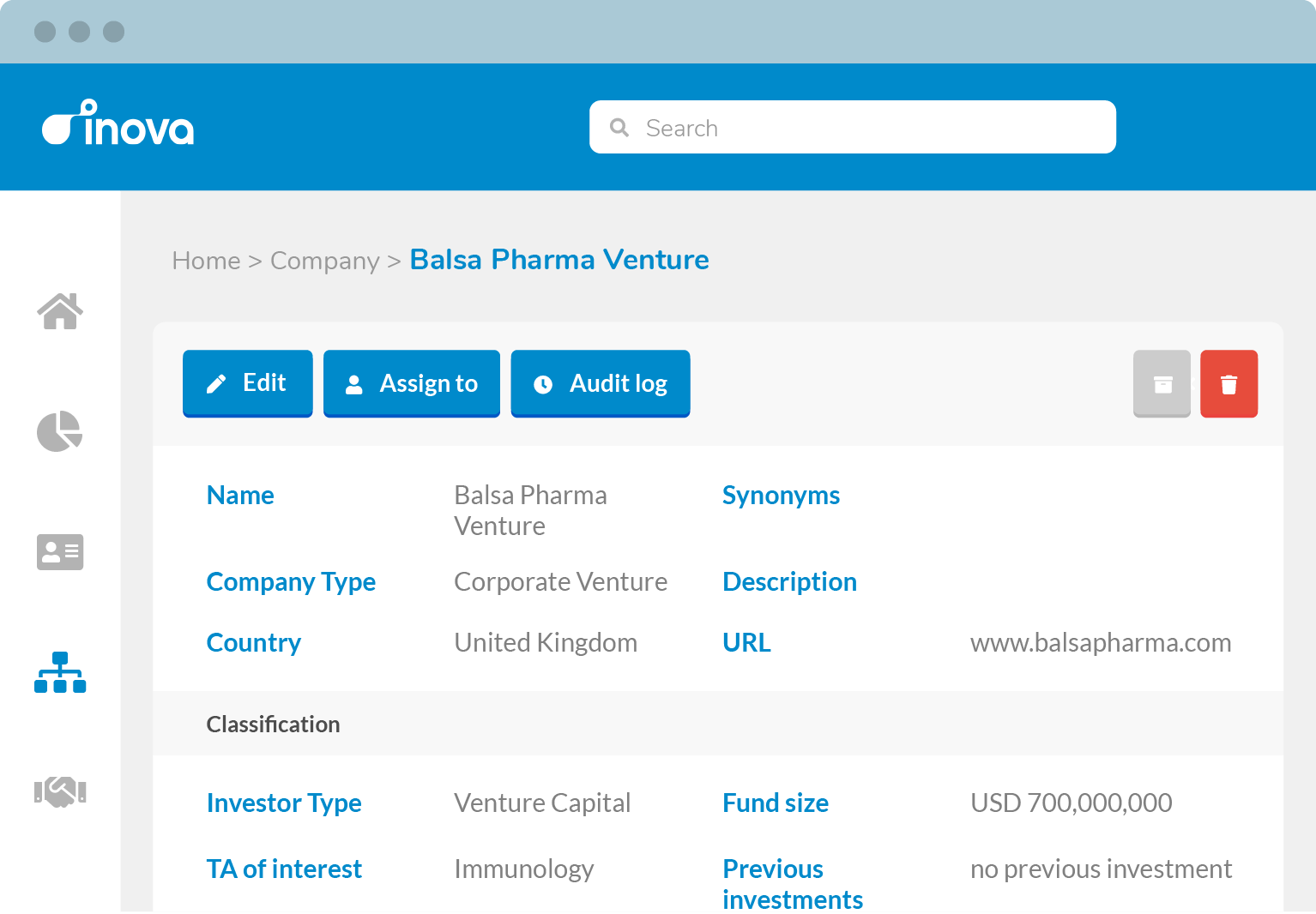 All your information in one place