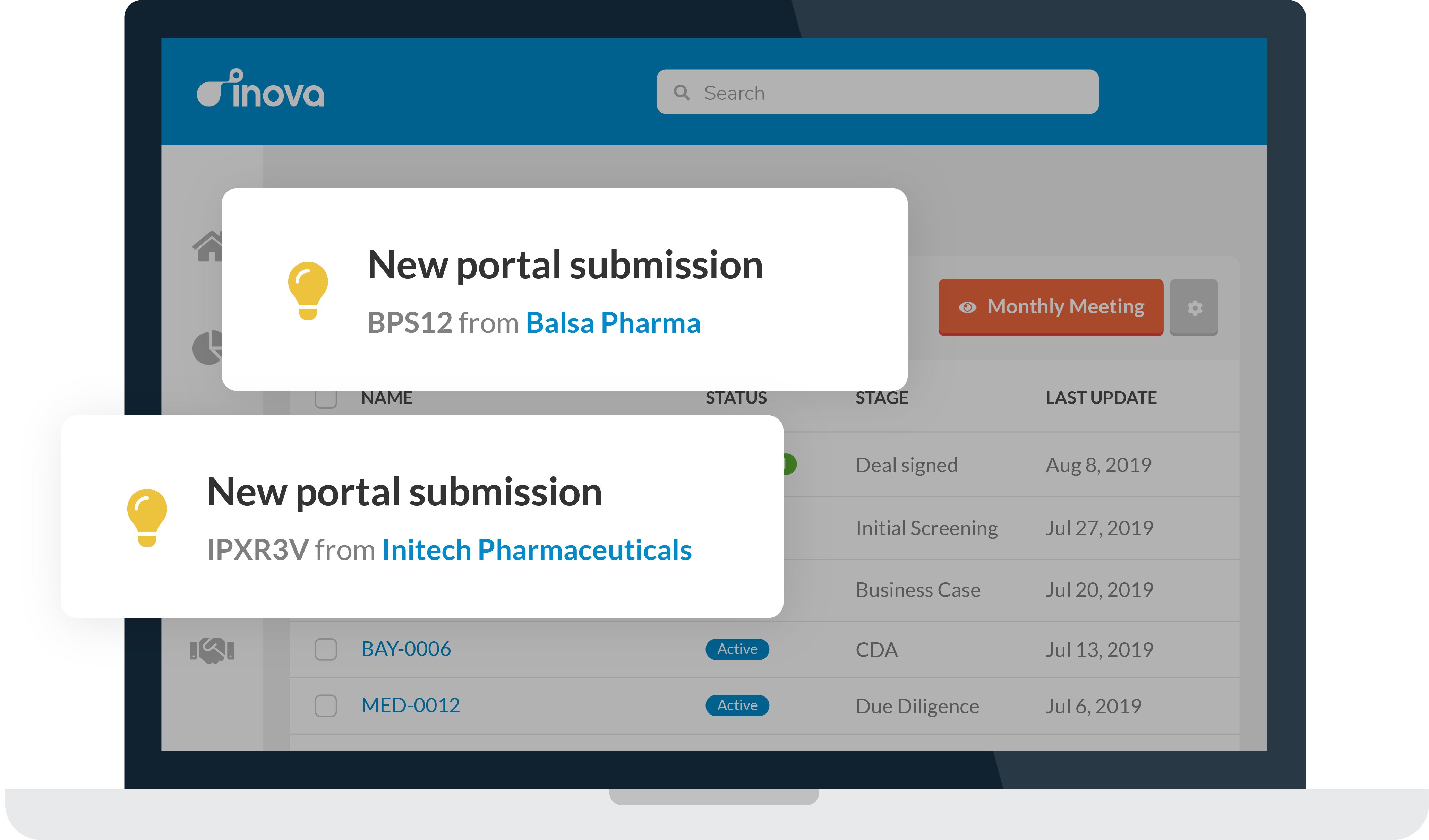 Opportunity Portal: Track and evaluate all your unsolicited opportunities in Inova