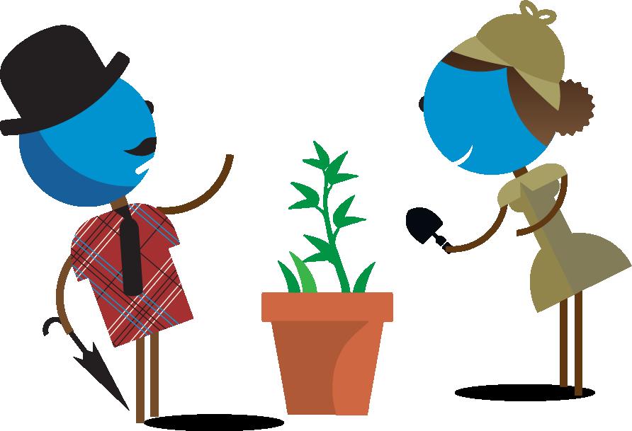 Sherlock-Watson-Planting-Tree